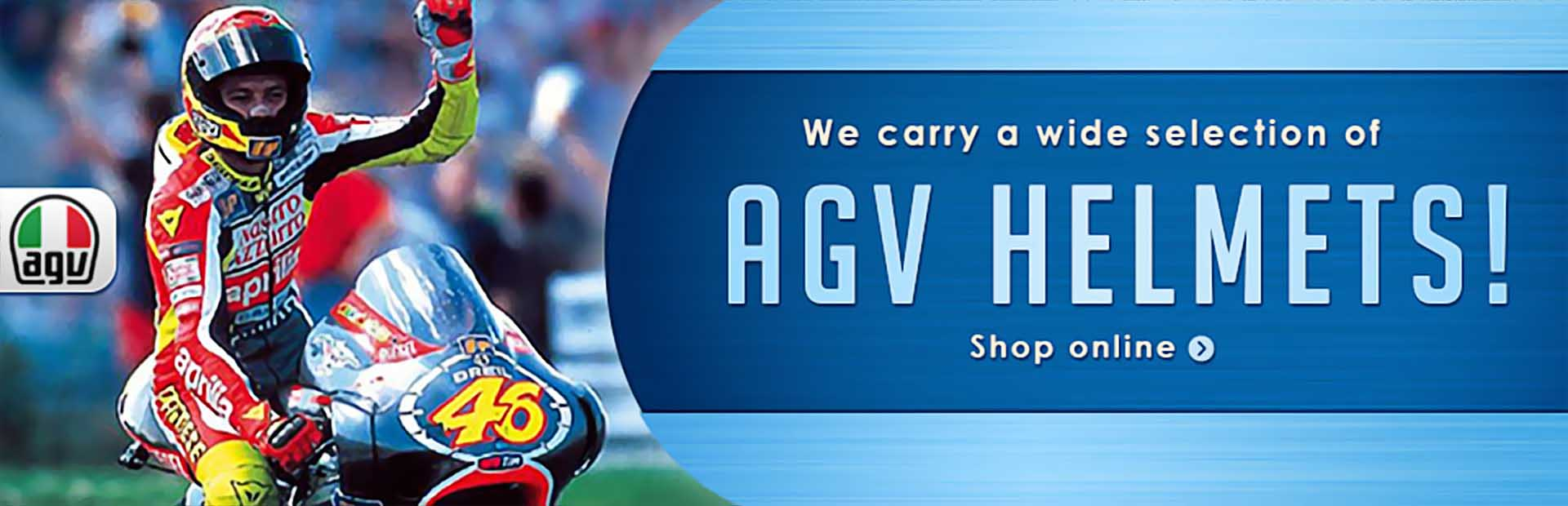 Buy AGV helmets and lids online