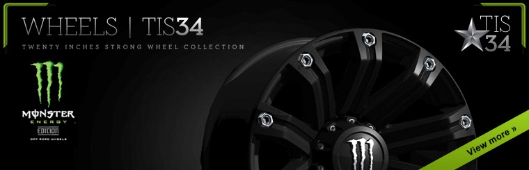 Click here to view the TIS34 Monster Energy Edition wheel collection.