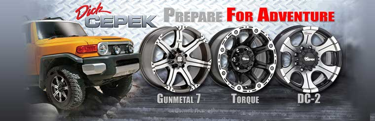 Click here to browse Dick Cepek wheels.