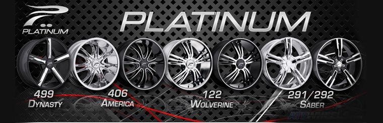 Click here to browse Platinum wheels.
