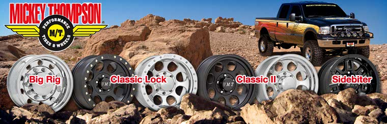 Click here to browse Mickey Thompson wheels.
