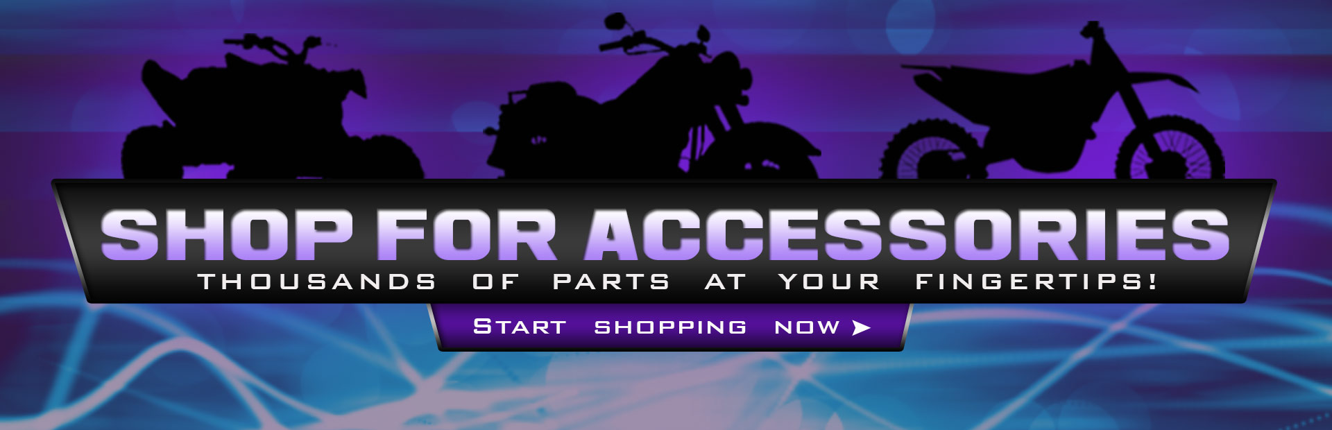 We have thousands of parts and accessories at your fingertips! Click here to start shopping now.