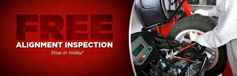 Stop in today for a free alignment inspection! Click here to contact us.