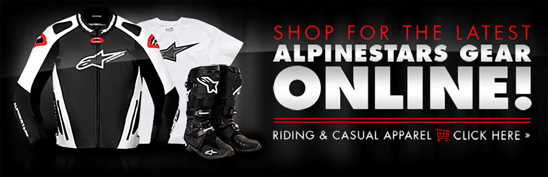 Click here to browse the latest Alpinestars gear online!