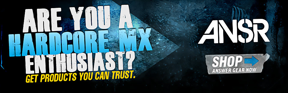 Are you a hardcore MX enthusiast? Get products you can trust. Shop Answer Racing gear now!