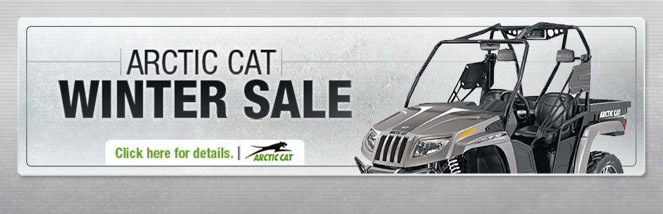 Click here for details on the Arctic Cat Winter Sale.
