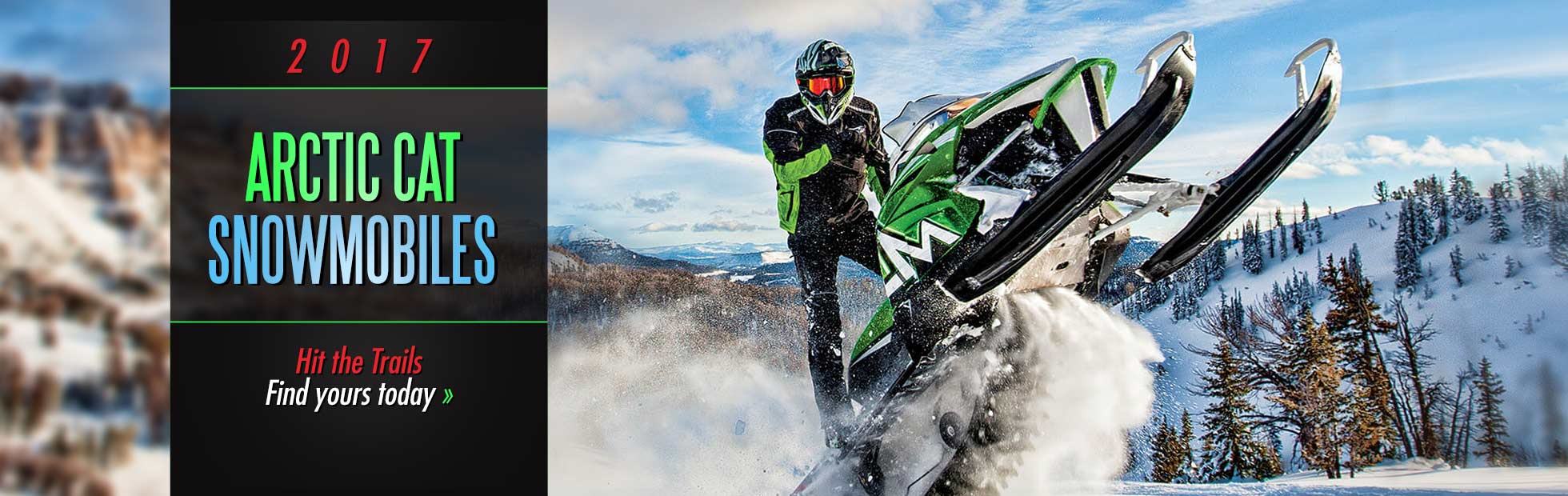 2017 Arctic Cat Snowmobiles: Click here to view the models.