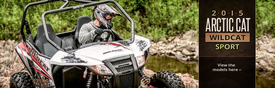 2015 Arctic Cat Wildcat Sport: Click here to view the models.
