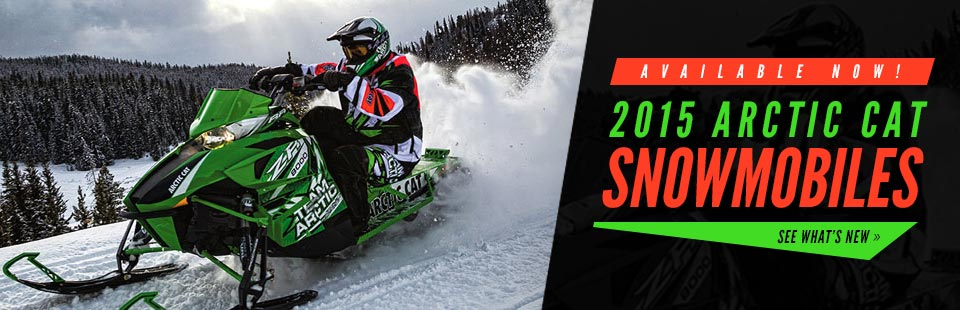 Click here to view the 2015 Arctic Cat snowmobiles.