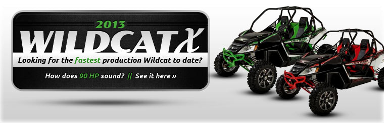 Click here to view the 2013 Arctic Cat Wildcat X.