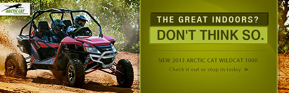 Click here to view the 2013 Arctic Cat Wildcat 1000.