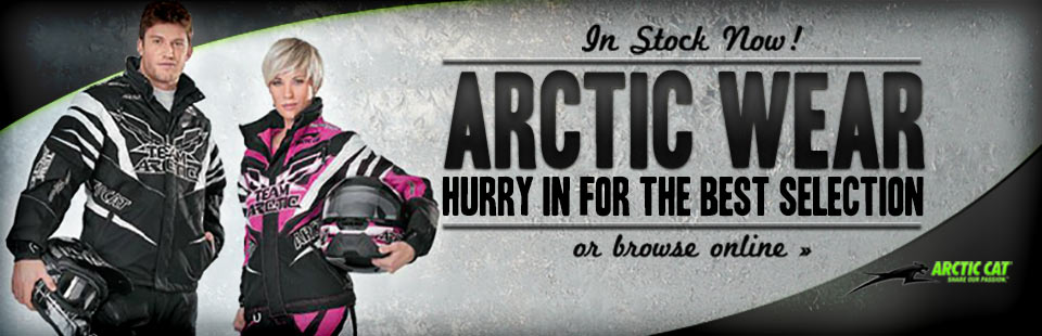 Arctic wear is in stock now! Hurry in for the best selection or click here to browse online.