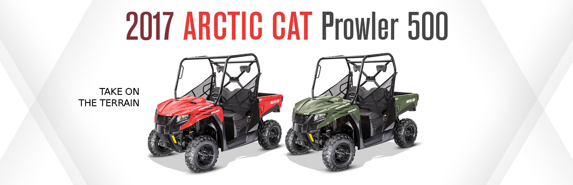 2017 Arctic Cat Prowler 500: Click here to view our selection!