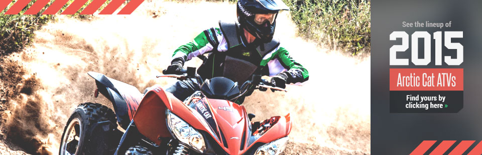 2015 Arctic Cat ATVs: Click here for details.