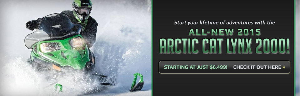 Click here to view the 2015 Arctic Cat Lynx 2000.