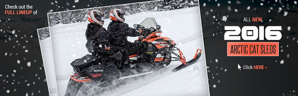 2016 Arctic Cat Sleds: Click here to view the lineup!