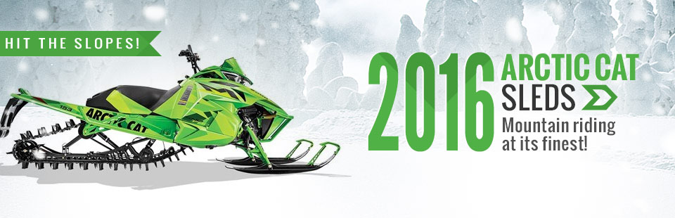 2016 Arctic Cat Sleds: Click here to view the lineup.
