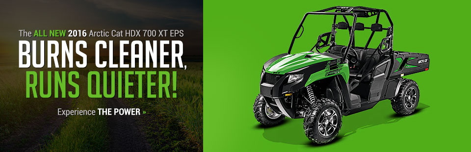 Click here to view our Arctic Cat showcase!