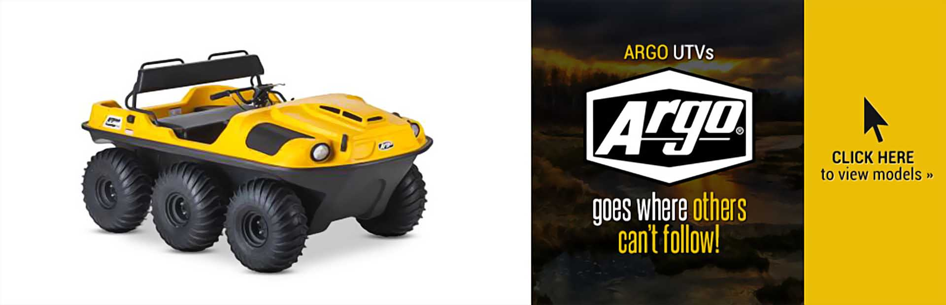 ARGO UTVs: Click here to view our selection!