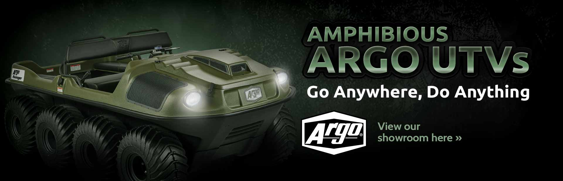 Click here to view Argo UTVs.