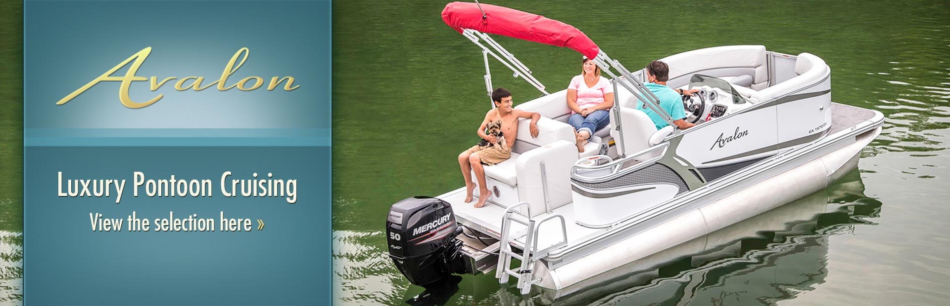Avalon Luxury Pontoon Boats: Click here to view the models.