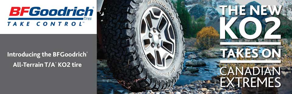 The new BFGoodrich® KO2 takes on Canadian extremes!