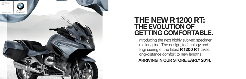Check out the 2014 BMW R 1200 RT.