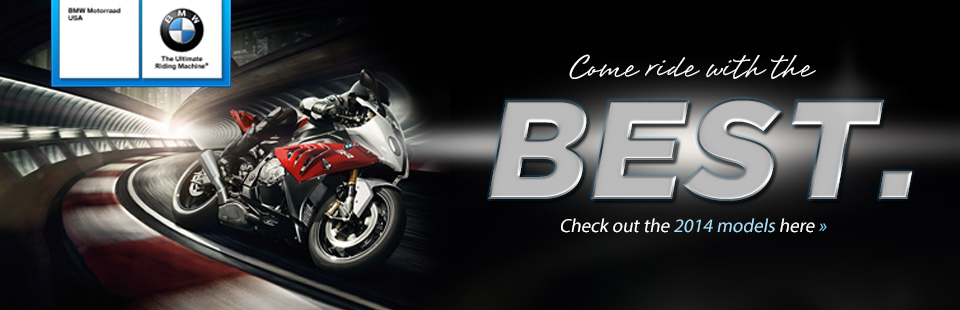View the 2014 BMW street bikes.