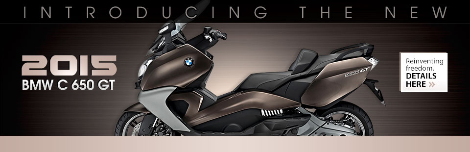 2015 BMW C 650 GT: Click here to view the model.