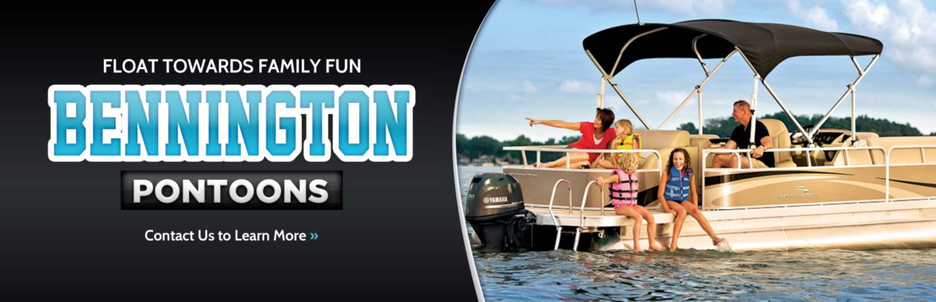 Click here to contact us about Bennington pontoons.