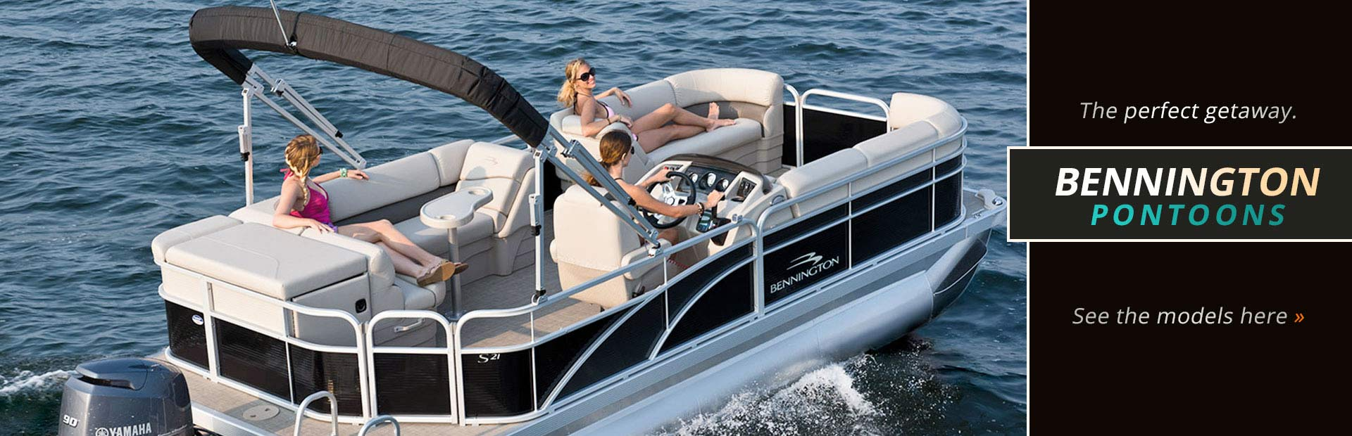 Bennington Pontoons: Click here to view our showcase.