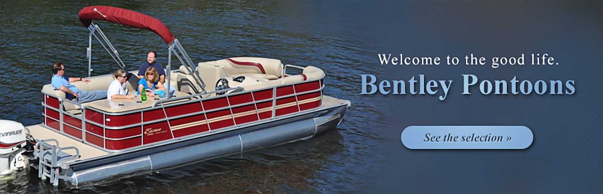 Bentley Pontoons: Click here to see the selection!