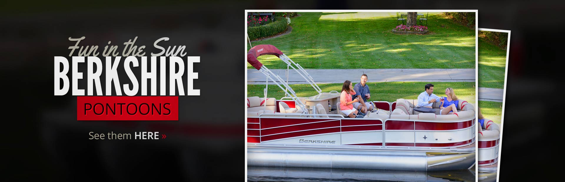 Berkshire Pontoons: Click here to view the models.