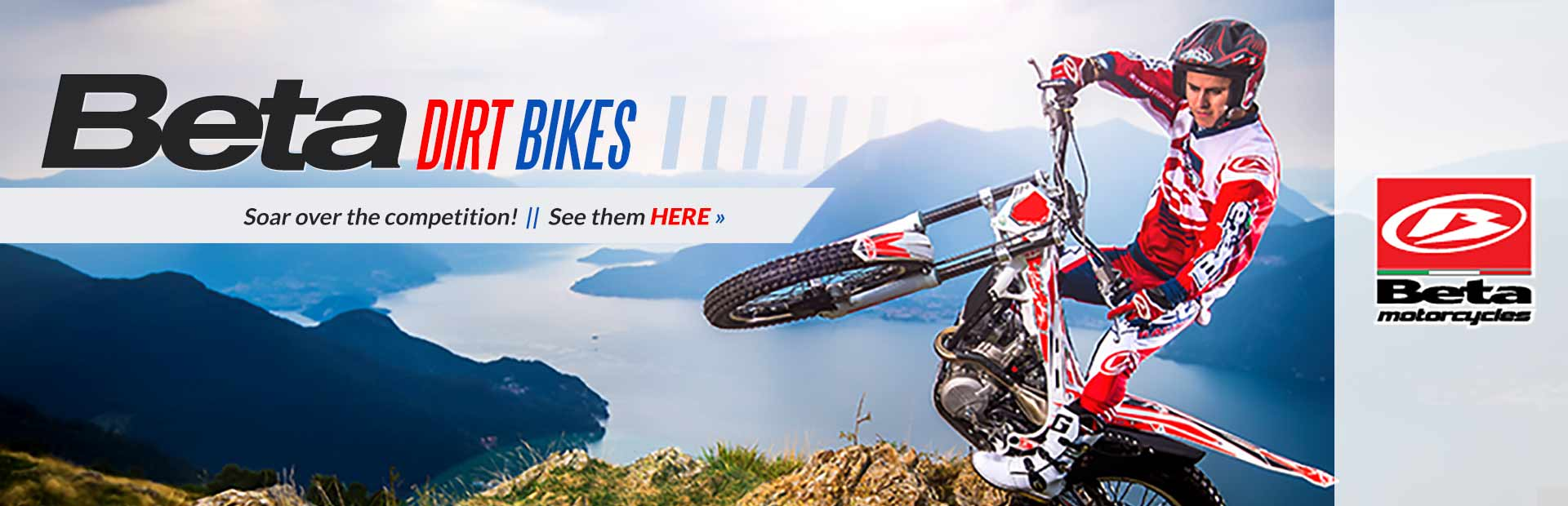 Click here to view our selection of Beta dirt bikes!