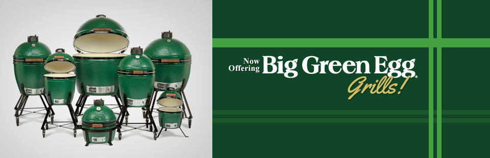 Big Green Egg Grills: Click here to shop.