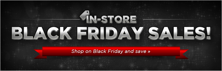 In-Store Black Friday Sales