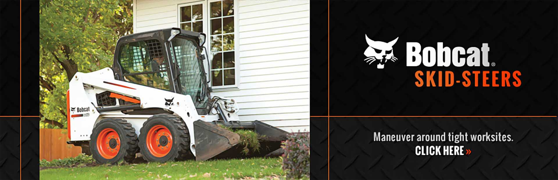 Bobcat Skid-Steers: Click here to view our selection.