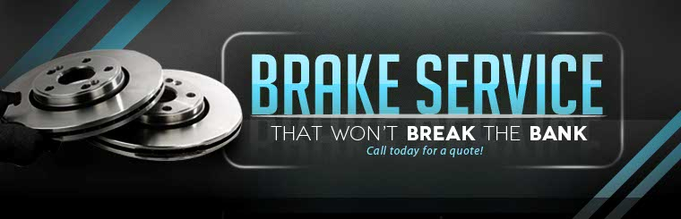 Call today for a quote on brake service that won't break the bank.