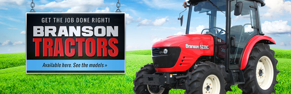 Branson Tractors: Click here to view our selection!