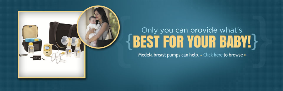We carry Medela breast pumps.