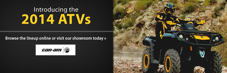 Click here to view the 2014 Can-Am ATVs.