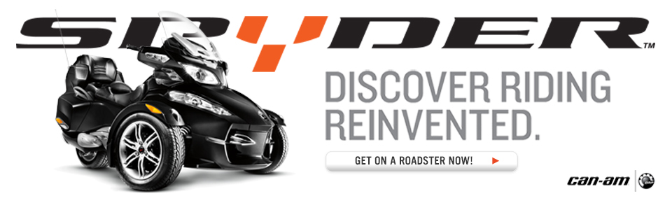 Discover riding reinvented with a new Can-Am Spyder.