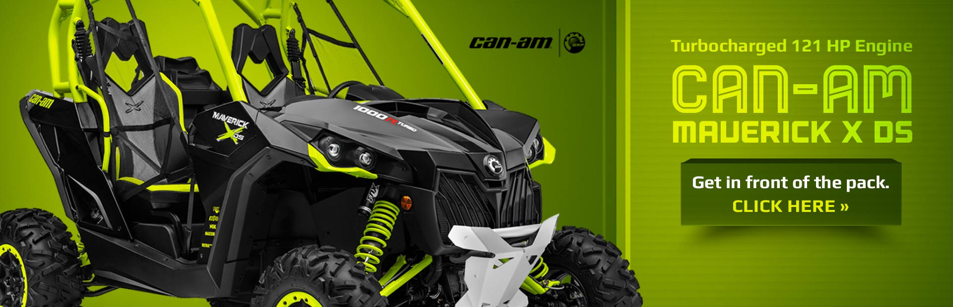 2015 Can-Am Maverick X ds: Click here to view the model.