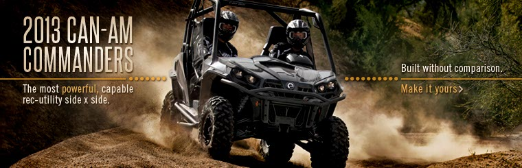 Click here to view the 2013 Can-Am Commanders.
