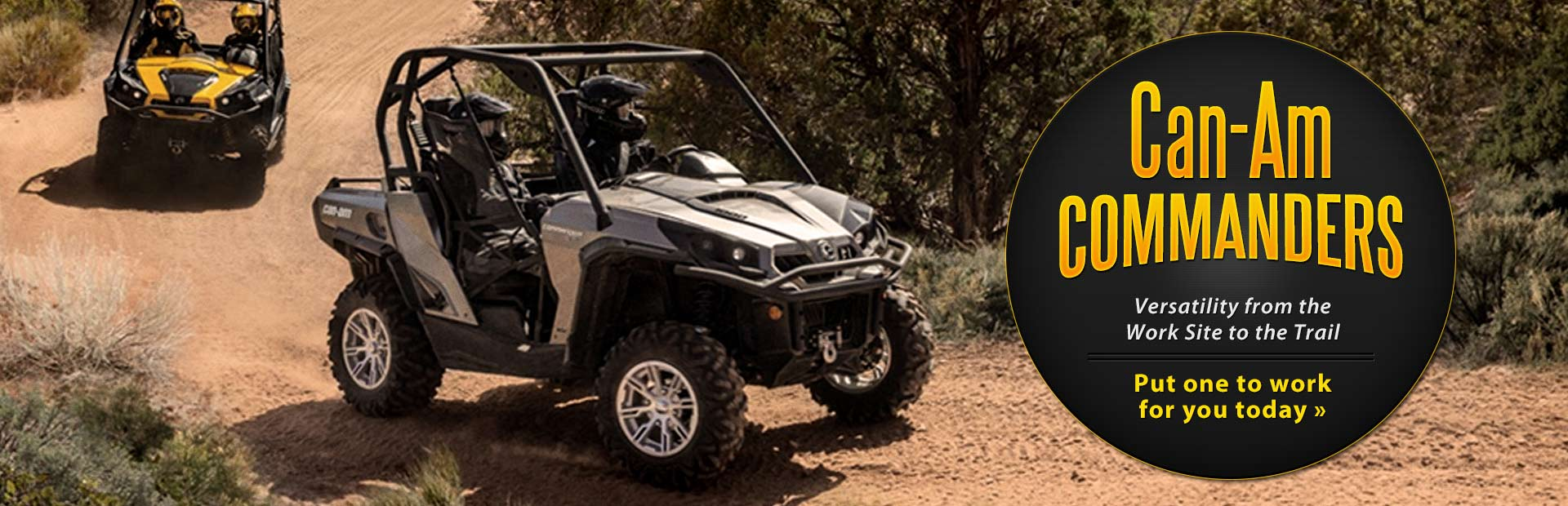 View the new Can-Am Commanders.