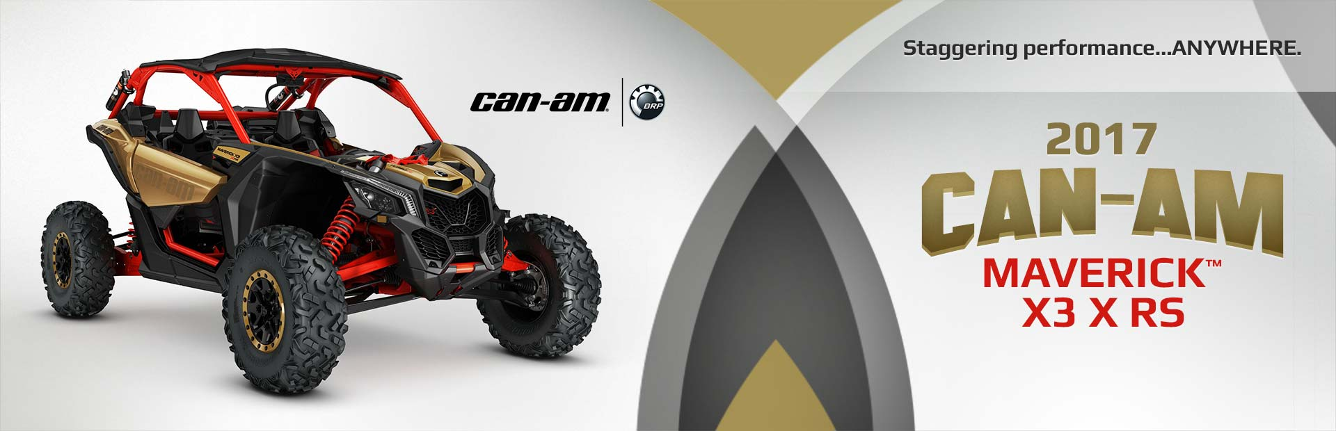 The 2017 Can-Am Maverick™ X3 X rs: Click here for details.