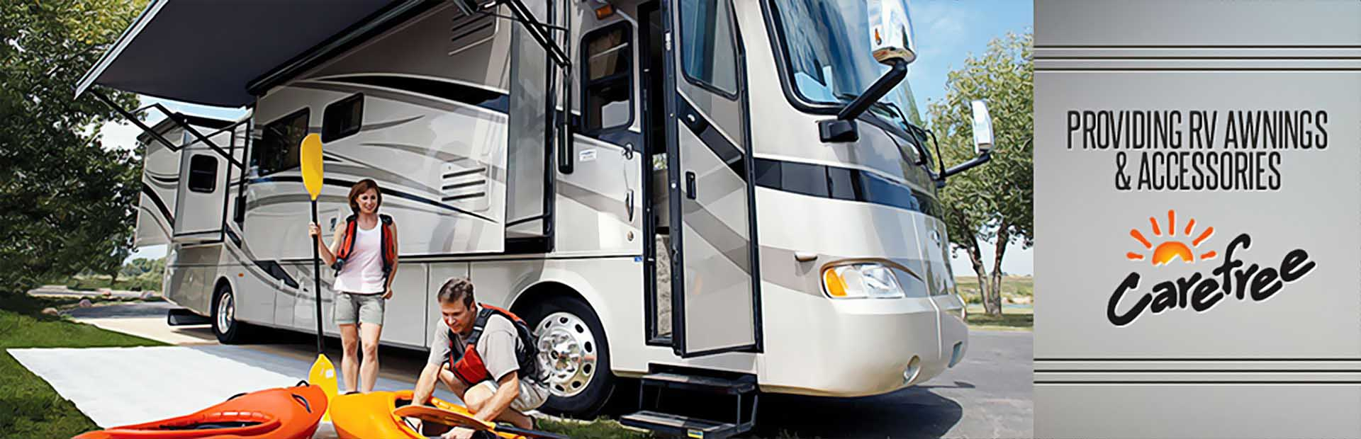 Carefree of Colorado provides RV awnings and accessories. Contact us for details.