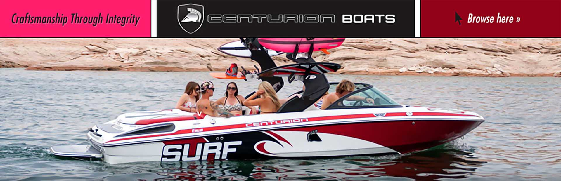 Centurion Boats: Click here to view the models.