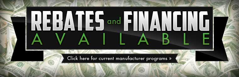 Click here to view current manufacturer programs.