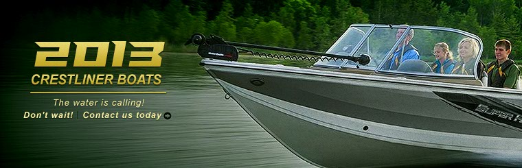 Click here to contact us about the 2013 Crestliner boats.